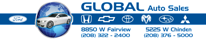 Global Auto Sales Banner